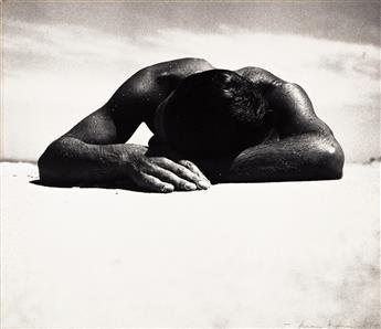 MAX DUPAIN (1911-1992) Sunbaker.