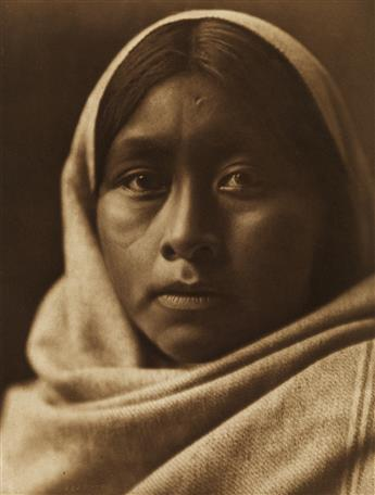 EDWARD S. CURTIS (1868-1952) The North American Indian, Portfolio II [Apache, Pima, Pagago, and Mohave].