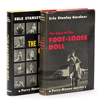 GARDNER, ERLE STANLEY. The Case of the Calendar Girl [and] The Case of the Foot-Loose Doll.