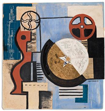 IRENE RICE PEREIRA (1902 - 1971, AMERICAN) Untitled.