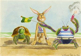 "WILLIAM PÈNE DU BOIS. ""The Hare and the Tortoise a"