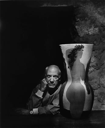 YOUSUF KARSH (1908-2002) A suite of 7 large-format portraits of artists and performers.
