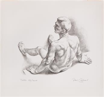 PAUL CADMUS (1904-1999) Teddo.