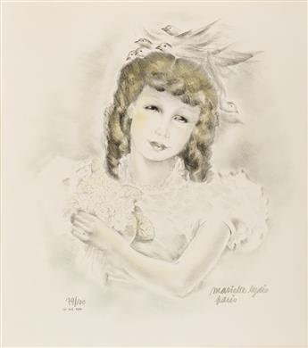 MARIETTE LYDIS (1887-1970) Two prints.