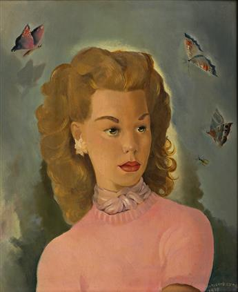 MARIETTE LYDIS (1887-1970) Portrait of a Young Wom