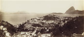 MARC FERREZ (1843-1923) Suite of 22 photographs of Rio de Janeiro and its environs by Brazils preeminent 19th-century photographer.