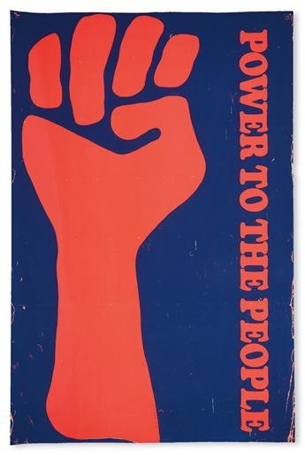 (BLACK PANTHERS.) [ANONYMOUS]. Power To The People.