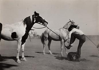 RUSSELL LEE (1903-1986) Part of novelty race at Imperial County Fair, California.