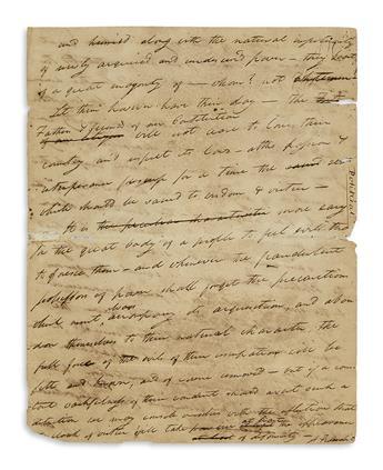 WEBSTER-NOAH-Autograph-Manuscript-Signed-A-Federalist-comple