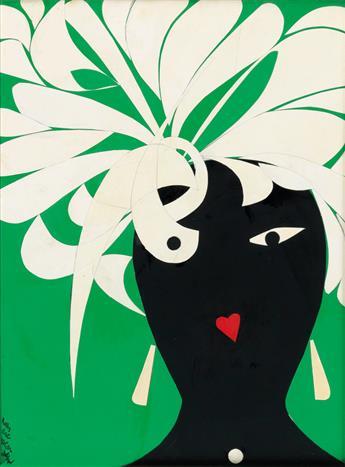 ROMARE BEARDEN (1911 - 1988) Brazil.