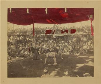 (PHOTOGRAPHY----JAPAN)-Album-of-100-hand-tinted-albumen-prin