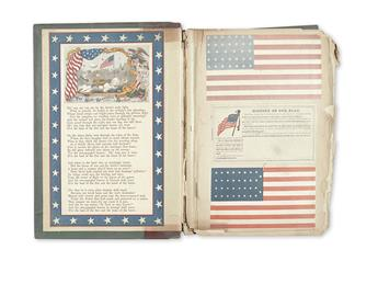 POSTAL COVERS. Stationary salesman's sample book with over 500 postal covers.