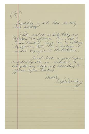 WOODRUFF-HALE-Illustrated-Autograph-Letter-Signed-with-6-ink