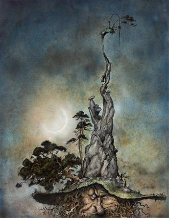 """BRIAN FROUD (1947- ) """"The Mountain."""" [CHILDRENS / FANTASY]"""