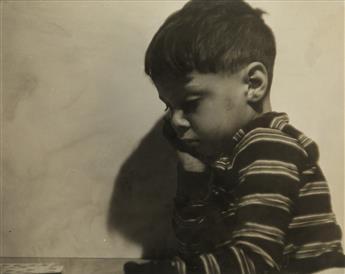 CHARLES WHITE (1918 - 1979) Pensive Child.