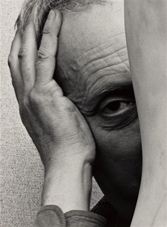 ARNOLD NEWMAN (1918-2006) Jean Arp.