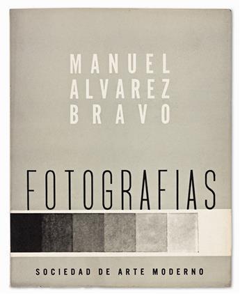 MANUEL ÁLVAREZ BRAVO. Fotografías.
