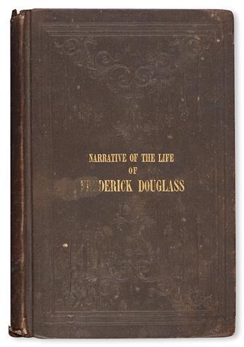 (SLAVERY AND ABOLITION.) DOUGLASS, FREDERICK. Narrative of the Life of Frederick Douglass, an American Slave, Written by Himself.