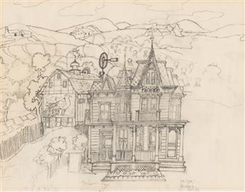 MAURICE SENDAK (1928-2012) Dorothy's house. [CHILDRENS / WIZARD OF OZ / DISNEY]
