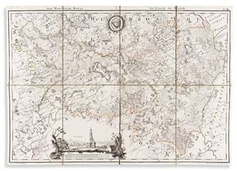 (BALTIC STATES.) Ludwig August Mellin. [Atlas von Liefland].