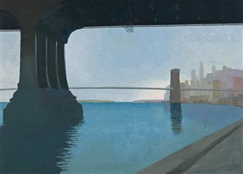 ARTHUR COHEN Brooklyn Bridge.