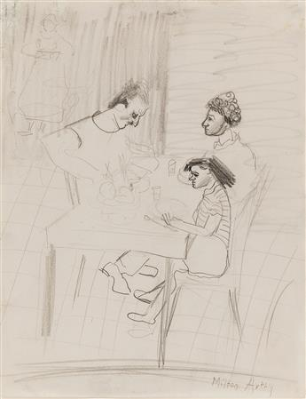 MILTON AVERY Portrait of the Artists Family.