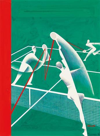 (THE NEW YORKER.) THEODORE HAUPT. Tennis * Newlyweds.