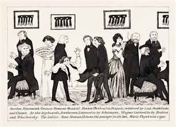 "EDWARD GOREY (1925-2000) ""Another Nineteenth-Century Moment Musical."""