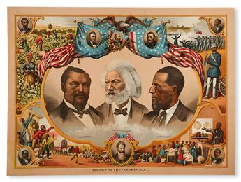 (RACE HISTORY AND UPLIFT.) Heroes of the Colored Race.