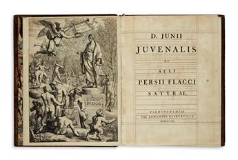 BASKERVILLE-PRESS--Juvenalis-Decimus-Junius;-and-Persius-Fla