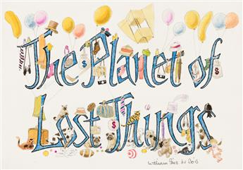 WILLIAM PÈNE DU BOIS (1916-1993) The Planet of Lost Things. * Lost Key Tree. [CHILDRENS]