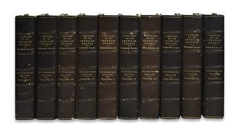 (PRESIDENTS--1918.) Wilson, Woodrow. A History of the American People . . . Documentary Edition.