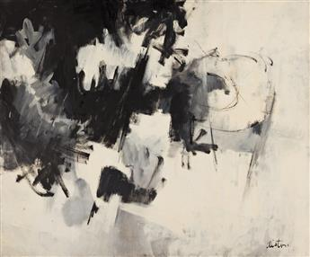 CHARLES ALSTON (1907 - 1977) Black and White #8.