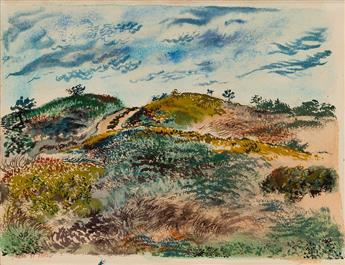 GEORGE-GROSZ-Truro-Cape-Cod-Landscape