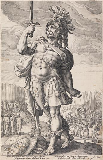 HENDRICK GOLTZIUS The Roman Heroes.