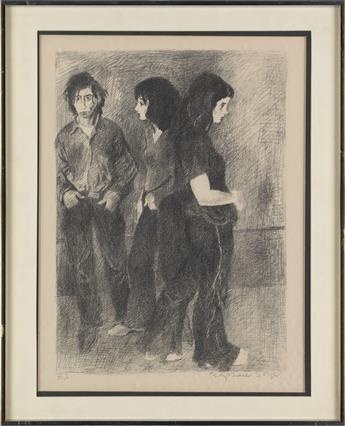 RAPHAEL-SOYER-Two-watercolors