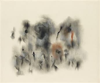NORMAN LEWIS (1909 - 1979) Untitled (Figure Compos
