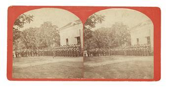 HUNTER, MAJOR GENERAL DAVID. Autograph Letter Signed to General A.O. Harding, Illinois House of Representatives * Carte-de-visite of Ge