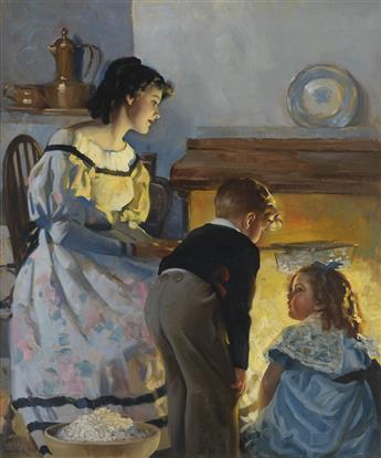 CALENDAR THOMAS MURPHY CHILDREN ANDREW LOOMIS. These are my jewels.