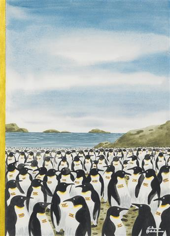 (THE NEW YORKER) CHARLES ADDAMS. Penguin Convention.