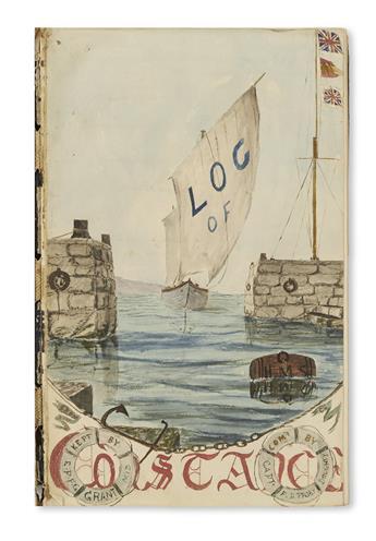 (SHIP'S-LOGS)-Grant-E[dmund]-P[ercy]-F[enwick]-G[eorge]-Log-
