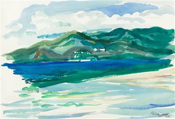 WILLIAM ZORACH Coastal View.