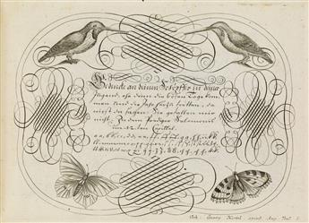 (BOOK-ARTS--TYPE--CALLIGRAPHY)-Losenauer-Johann-Jacob-Vorhri
