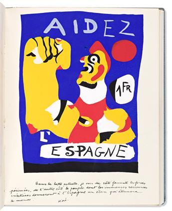 (MIRO, JOAN.) Cahiers d'art. 12e & 13e année.