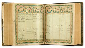 (FAMILY ARCHIVE.) Large family archive of ex-slaves Nelson Jordan and Carrie Walker Spencer.