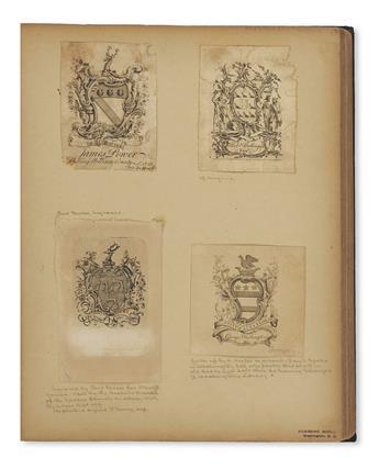 (BOOKPLATES)-Over-750-eighteenth-to-nineteenth-century-engra