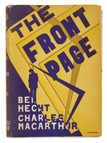 HECHT, BEN and MACARTHUR, CHARLES. The Front Page.