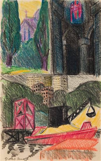 OSCAR-BLUEMNER-Three-industrial-scenes