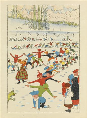 SPILLIAERT-LEON-(BELGIAN-SYMBOLISM--CHILDRENS-BOOKS)-Plaisir