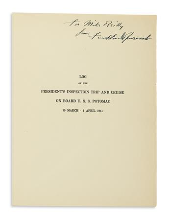 ROOSEVELT-FRANKLIN-D-Log-of-the-Presidents-Inspection-Trip-a
